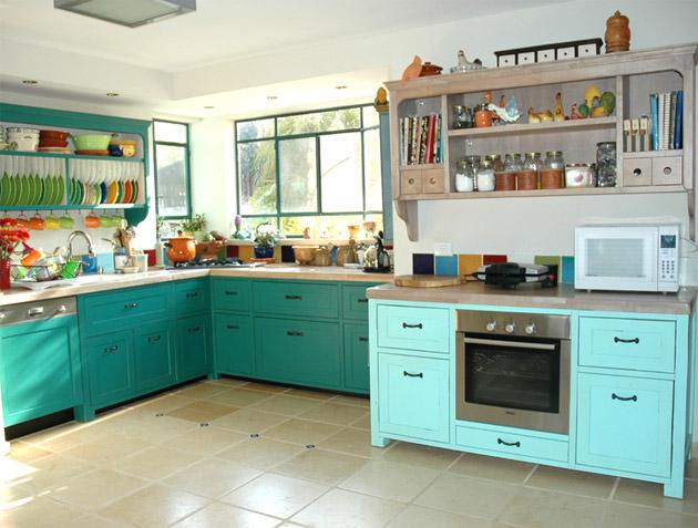 מבט מלא למטבח