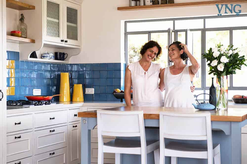 דניאלה והדס במטבח הכפרי החדש