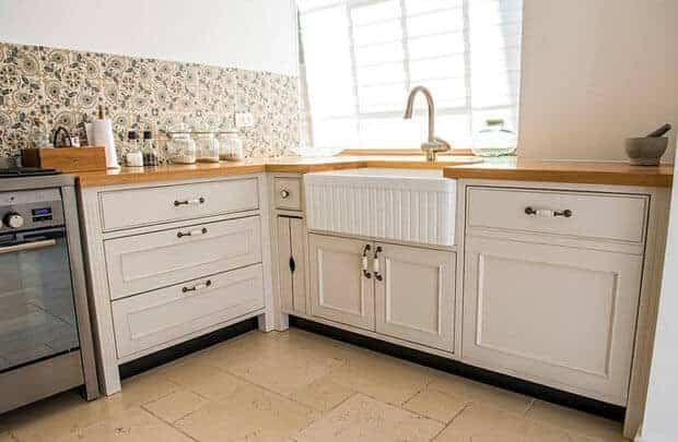 תכנון תשתיות למדיח במטבח