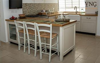 אי במטבח קטן: לפי מודל 5