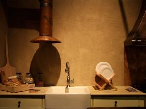 מטבח כפרי בסטודיו לאומנות