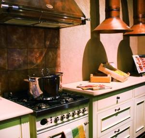 איזור ההכנה במטבח