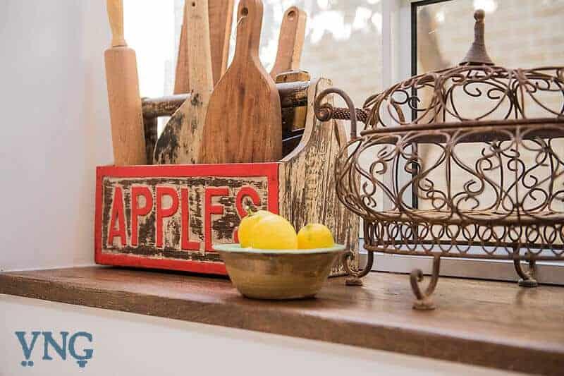 עיצוב המטבח בסגנון כפרי