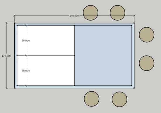 מודל 2 אי למטבח